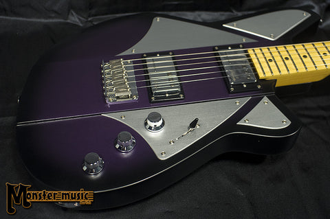 Reverend BC-1 Billy Corgan Signature Guitar Satin 2016 Satin Purple Burst