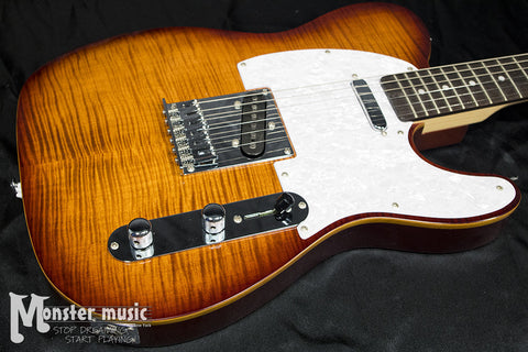 Michael Kelly 1953 Electric Guitar - Caramel Burst