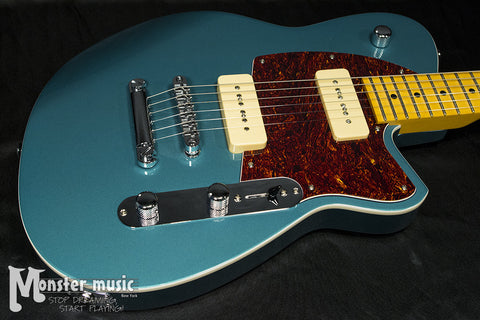 Reverend Charger 290 Electric Guitar Deep Sea Blue