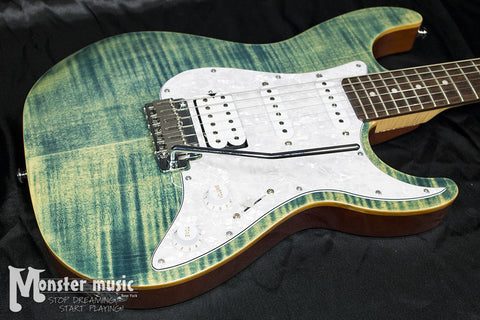 Michael Kelly 1963 Electric Guitar - Blue Jean Wash