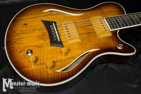 Michael Kelly Hybrid Special Semi-Hollow Electric Guitar - Spalted Burst