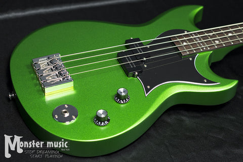 Reverend Mike Watt Signature Wattplower Bass 2017 Satin Emerald Green