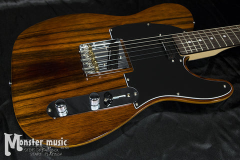 Michael Kelly Custom Collection 1950 Deluxe Electric Guitar - Striped Ebony