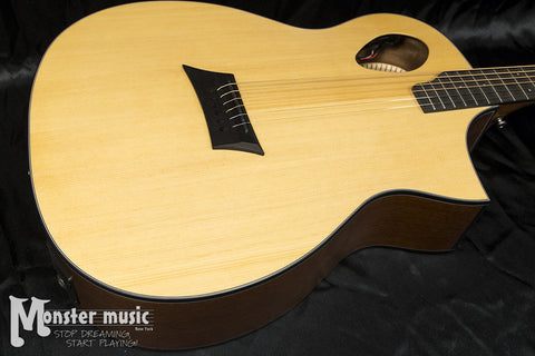 Michael Kelly Forte Port Acoustic Guitar - Natural Gloss