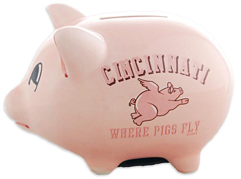 BACC1 Piggy Bank Pink Cincinnati