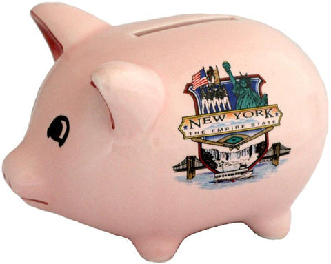 BANY1 Piggy Bank New York Empire State