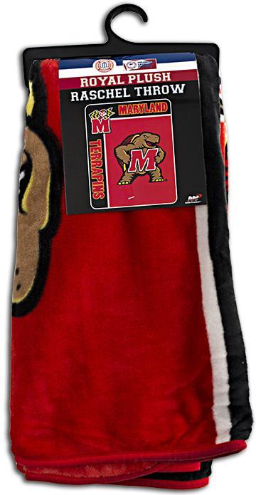 BCUM2 Blanket - Raschel Jumbo - University of Maryland