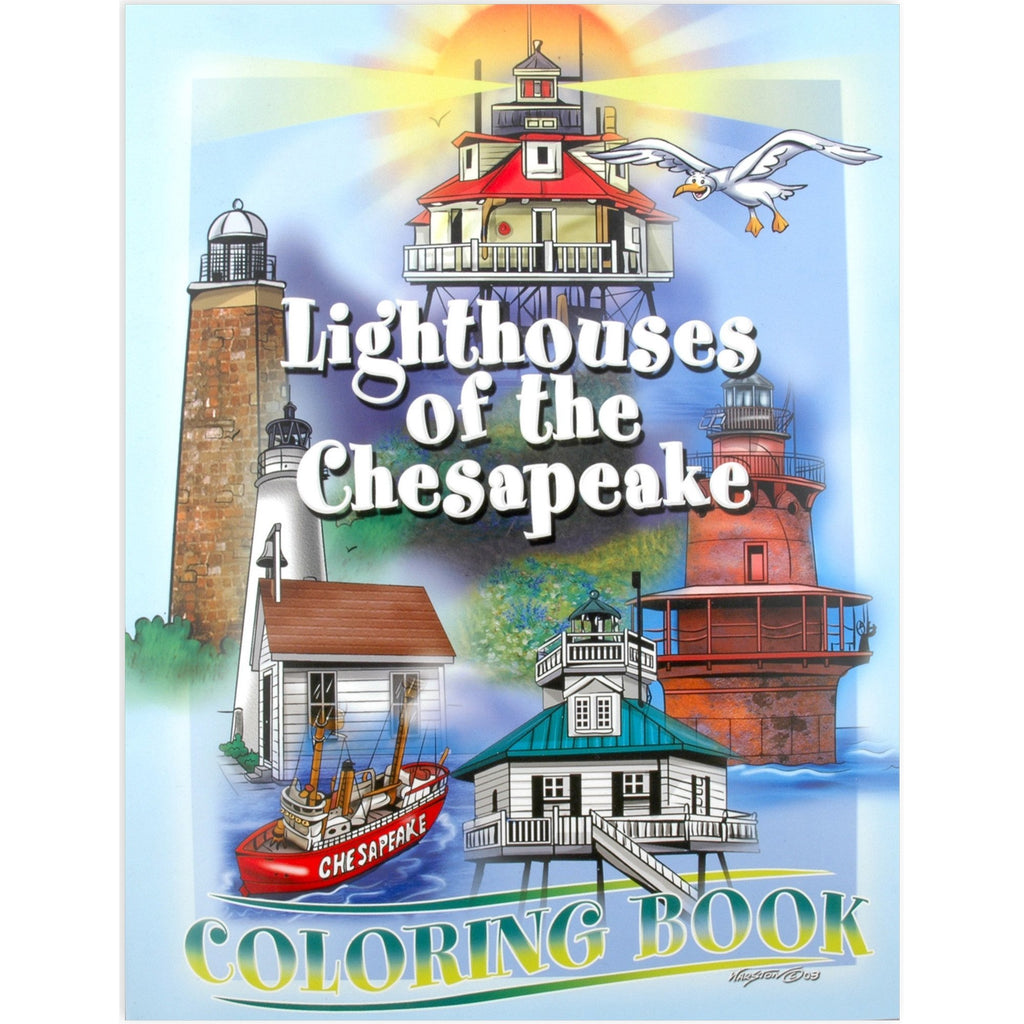 BKCB5 Coloring Book Chesapeake Lighthouses
