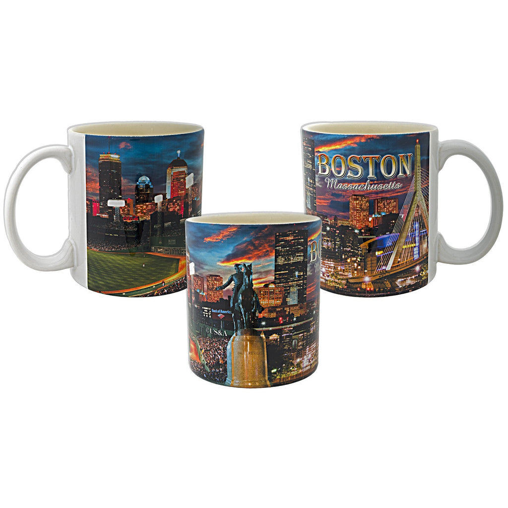 CMBT05 Coffee Mug Photo Wrap Boston Mass
