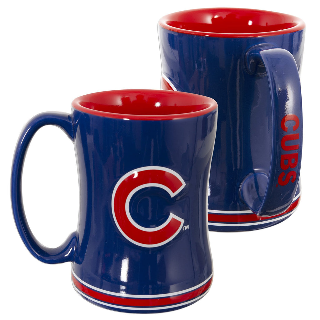 CMCHI01 Sculpted Coffee Mug - Chicago Cubs