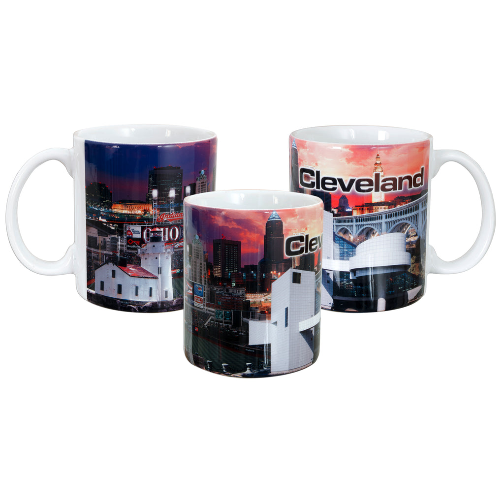CMCL01 Photo Wrap Coffee Mug - Cleveland, Ohio