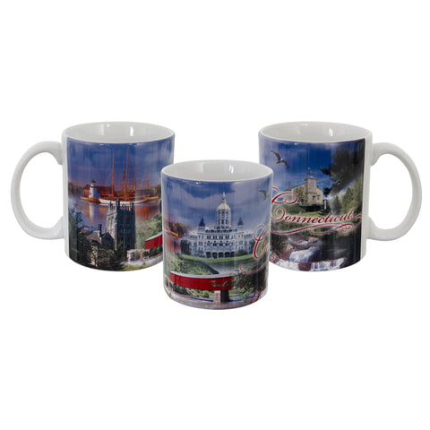 CMCT08 Coffee Mug Photo Wrap Connecticut