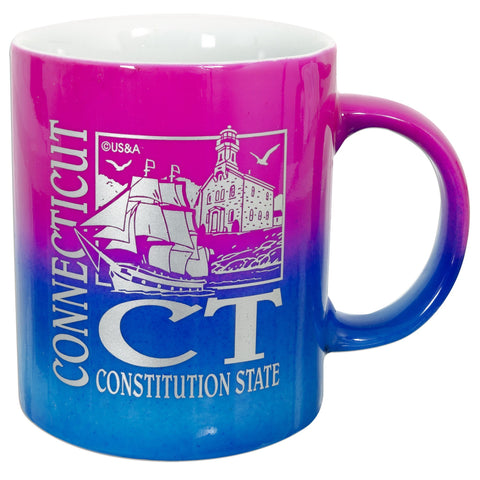 CMCT09 Coffee Mug Rainbow Connecticut
