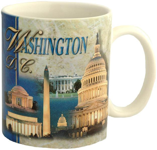 CMDC08 Coffee Mug Photo Wrap Washington DC Montage