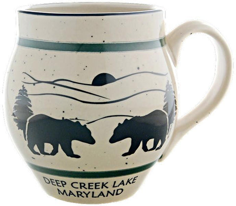 CMDL02 Coffee Mug Speckled Barrel Deep Creek Lake MD