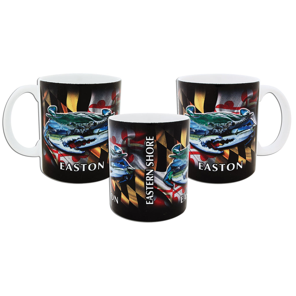 CMEM01 Coffee Mug / Crab Flag Wrap - Easton