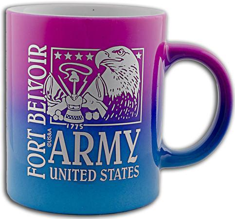 CMFB01 Coffee Mug Rainbow Fort Belvoir Army