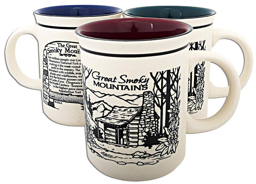 CMGS01 Coffee Mug Etched - Great Smoky Mountains History