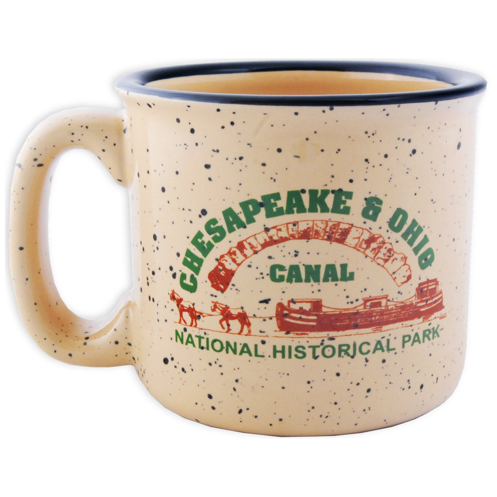 CMMD43 Coffee Mug Tan Campfire C&O Canal