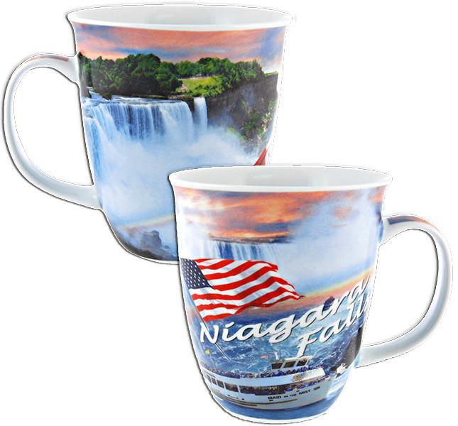 CMNF04 Coffee Mug Photo Trumpet Niagara Falls