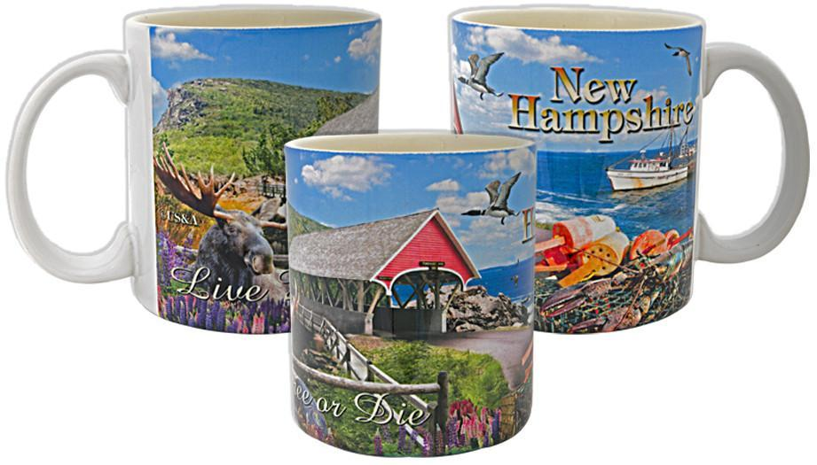 CMNH05 Coffee Mug Photo Wrap New Hampshire