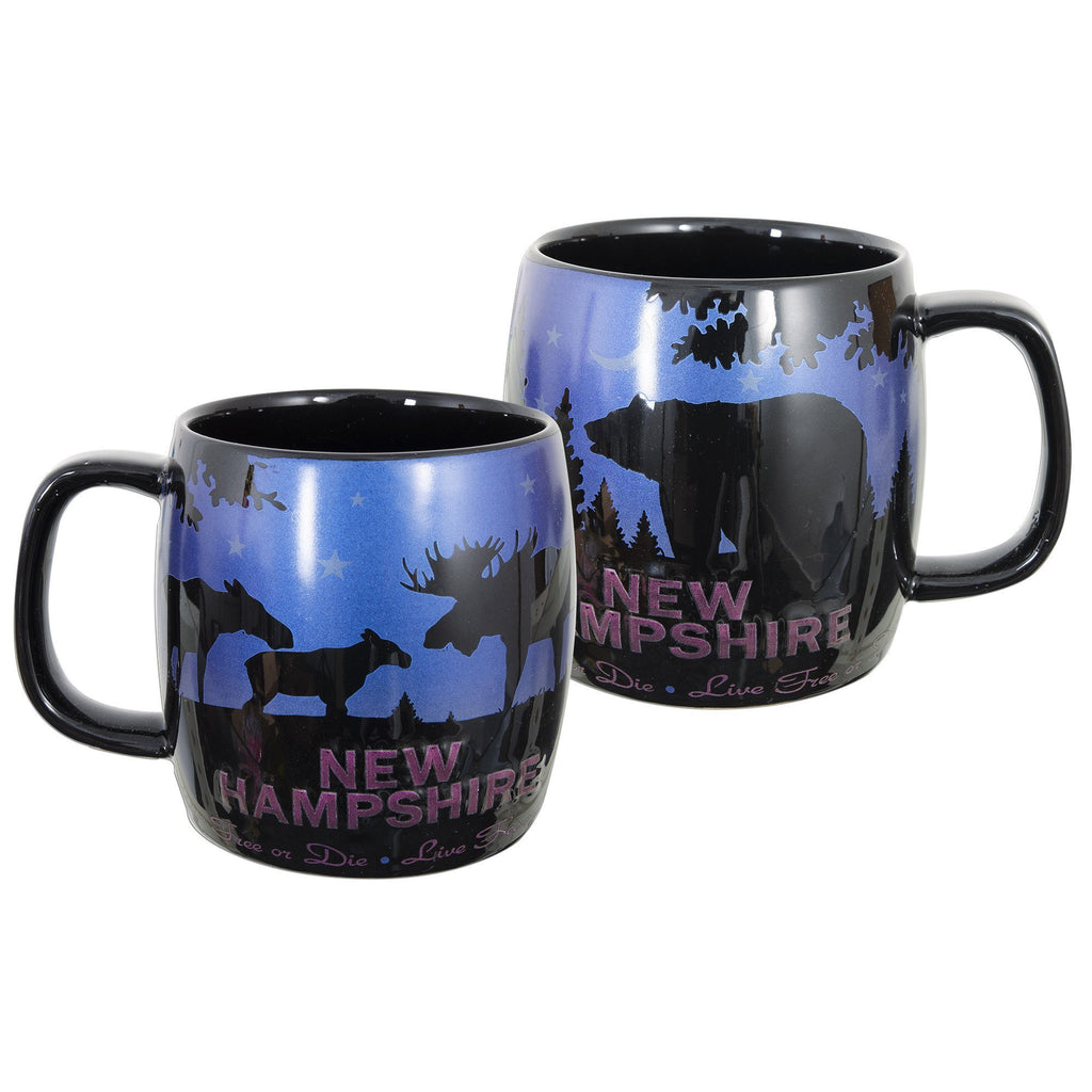 CMNH12 Coffee Mug New Hampshire Moose and Bear