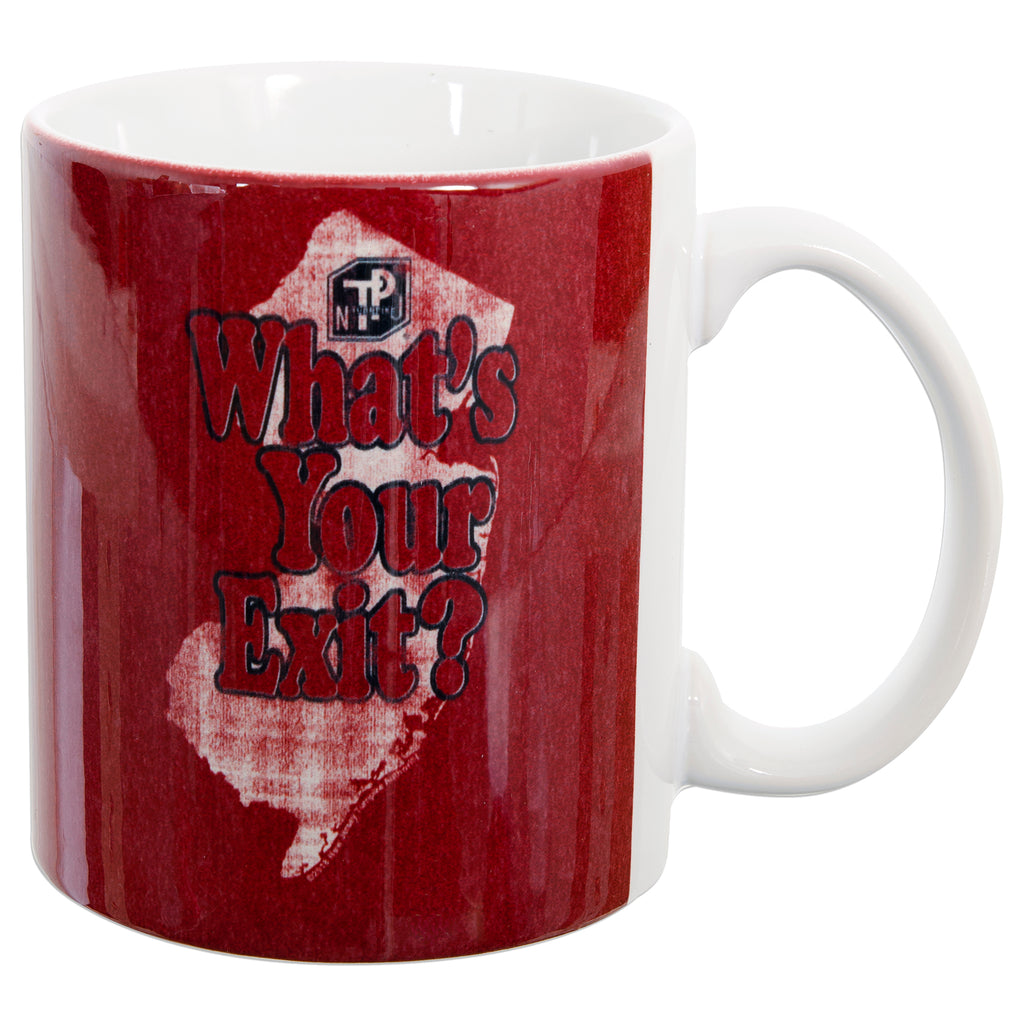 CMNJ32 Coffee Mug - New Jersey Turnpike What's Your Exit?