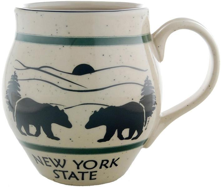 CMNY02 Coffee Mug Speckled Barrel New York State