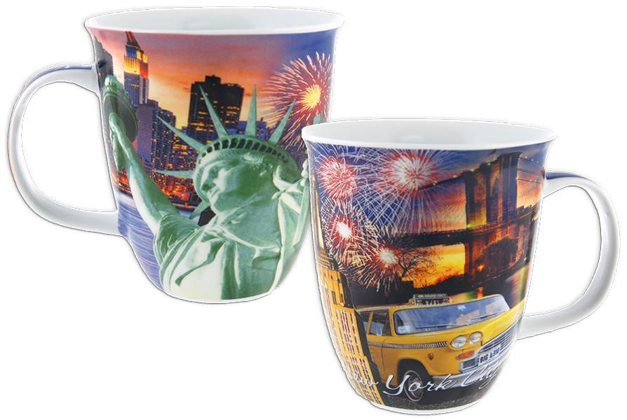 CMNY06 Coffee Mug Photo Trumpet New York City