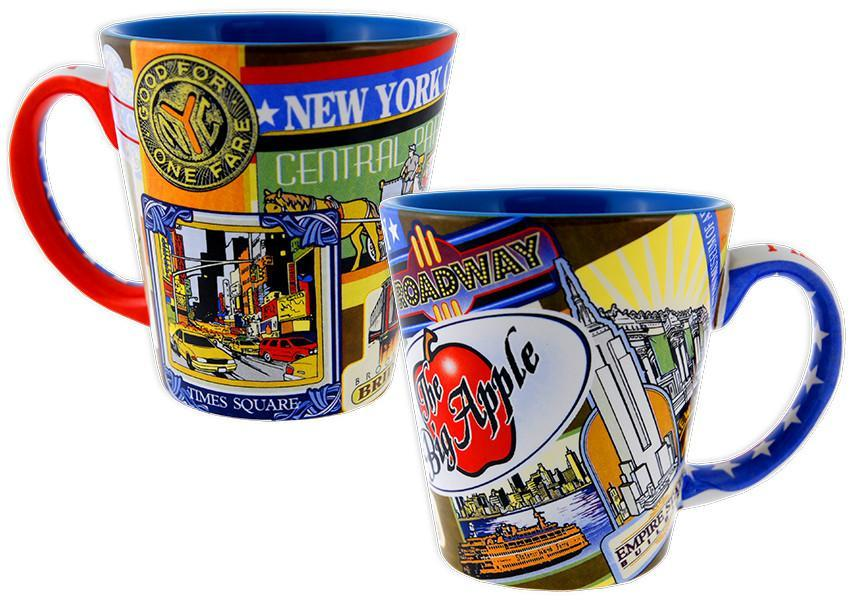 CMNY12 Coffee Mug Tapered New York City Vintage