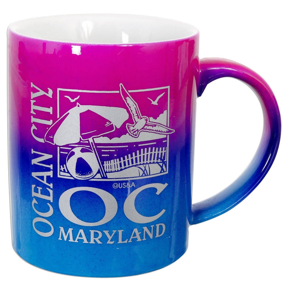 CMOC05 Coffee Mug Rainbow Ocean City OC