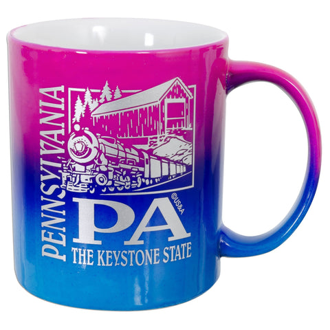 CMPA10 Coffee Mug Rainbow Pennsylvania PA