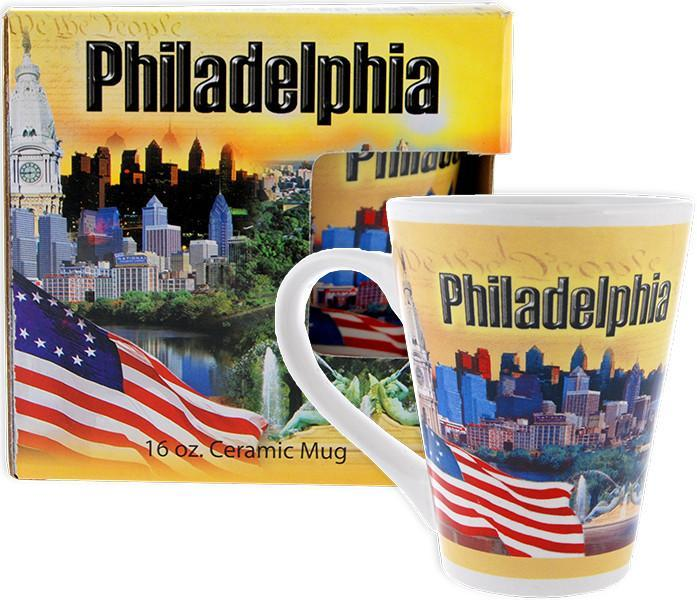 CMPH17 Coffee Mug Tapered BOXED Philadelphia Photos