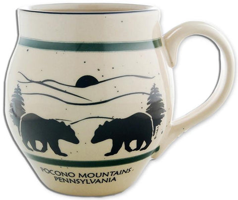 CMPM02 Coffee Mug Speckled Barrel Pocono Mountains PA