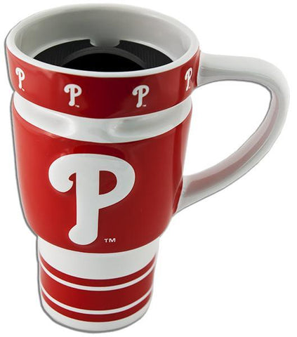 CMPP04 Travel Mug Sculpted Philadelphia Phillies