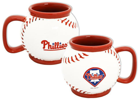 CMPP05 Baseball Mug Sculpted Philadelphia Phillies