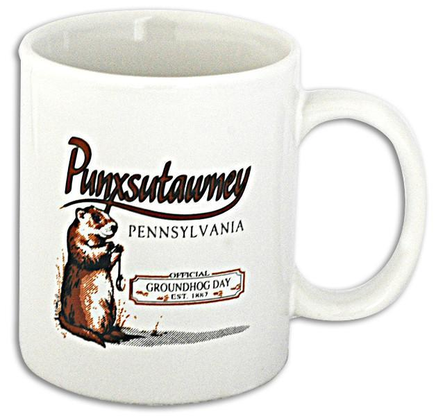 CMPX01 Coffee Mug Punxsutawney Groundhog Day