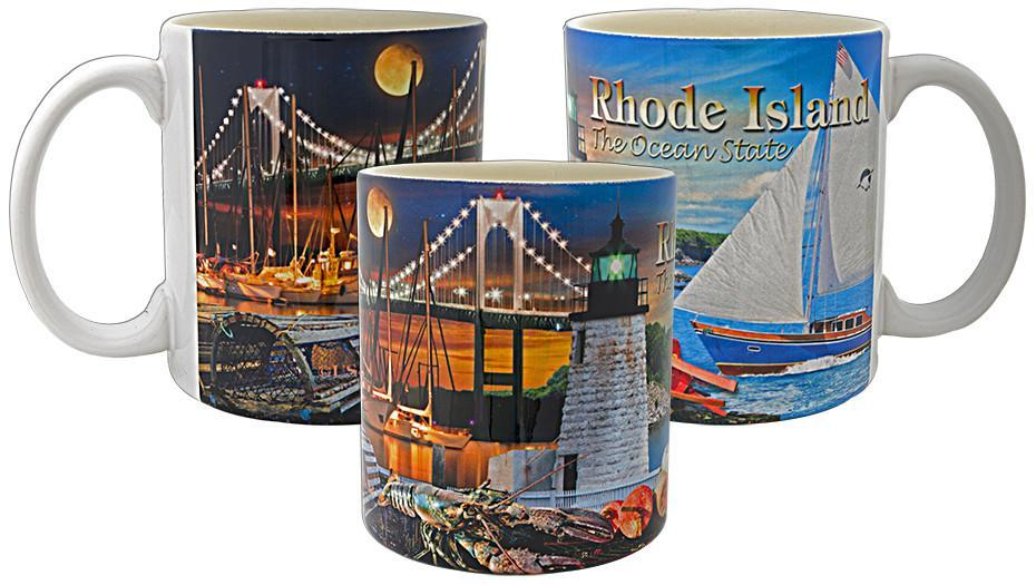 CMRI03 Coffee Mug Photo Wrap Rhode Island