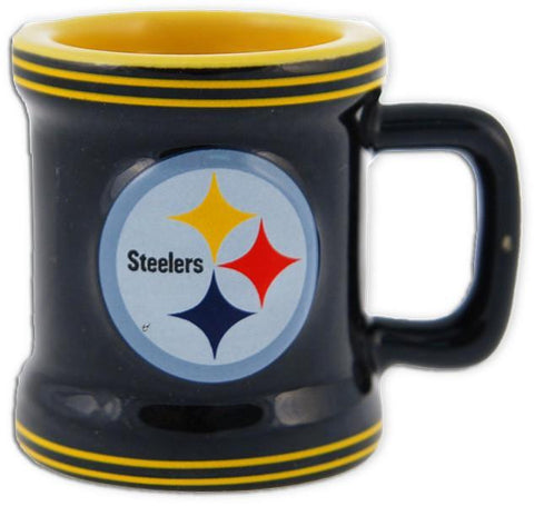 CMST02 Mini Sculpted Mug - Pittsburgh Steelers