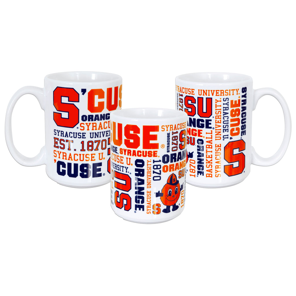 CMSU02 15 oz. Coffee Mug  - Syracuse University Spirit