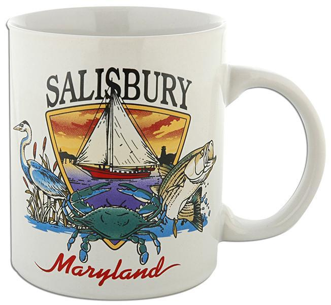 CMSY01 Coffee Mug Bay Scene Salisbury Maryland