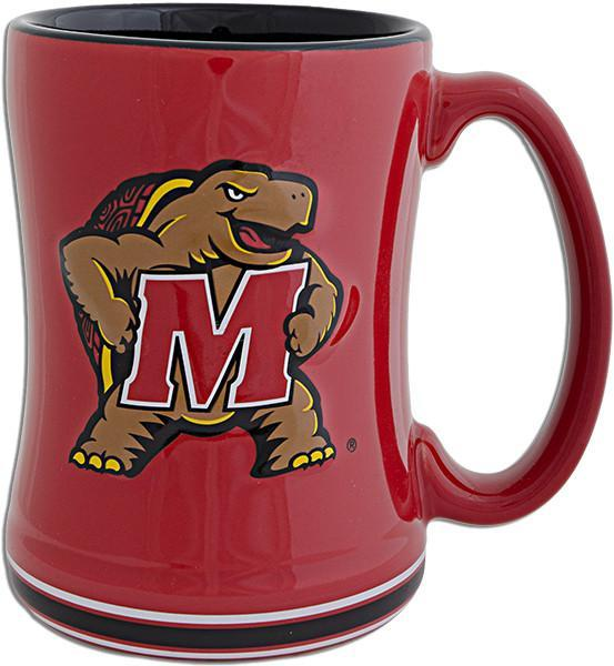 CMUM01 Coffee Mug Sculpted Raised University of Maryland