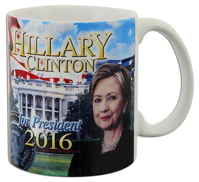 CMUS07 Coffee Mug Photo Wrap Hillary for President