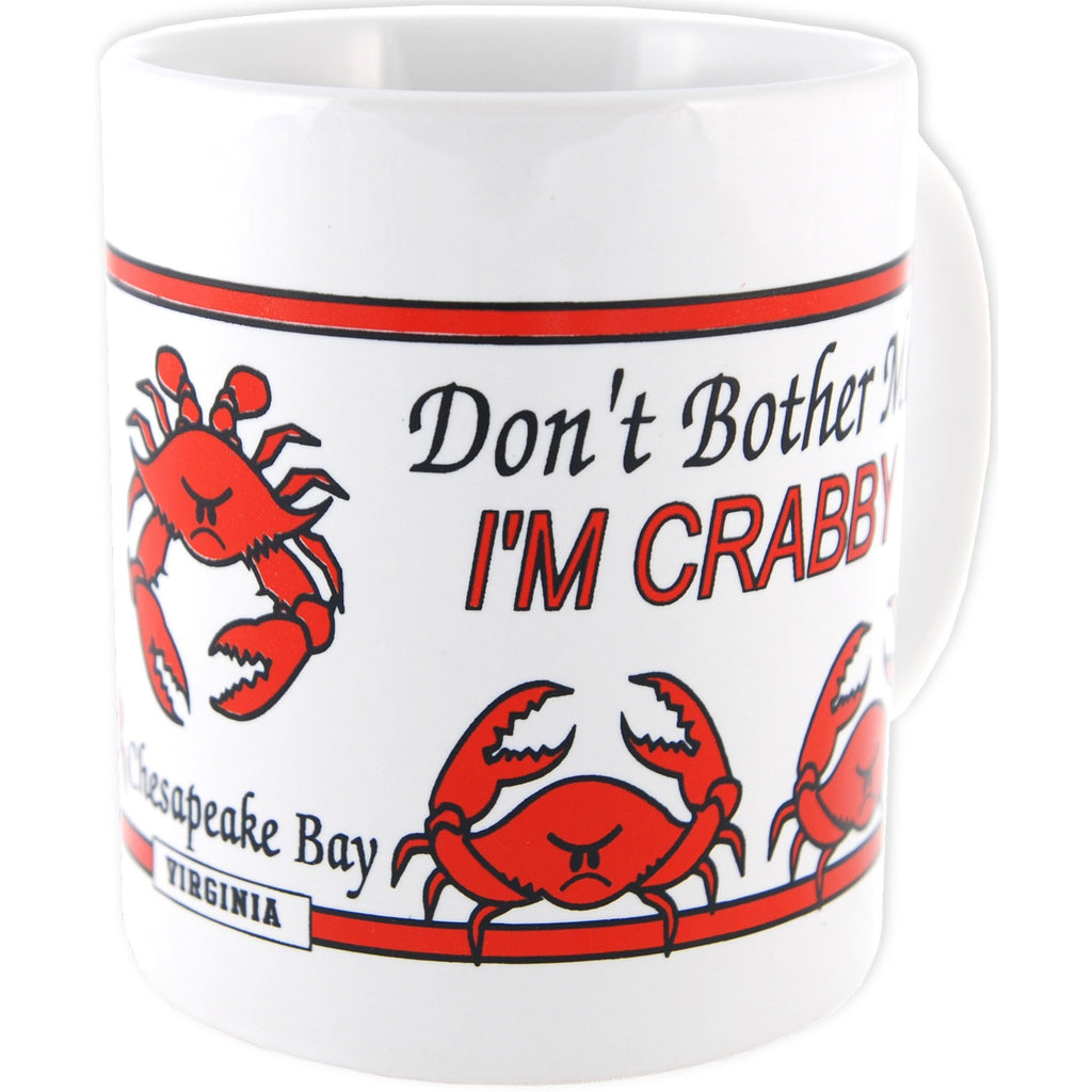CMVA16 Coffee Mug Crabby Wrap Chesapeake Bay Virginia