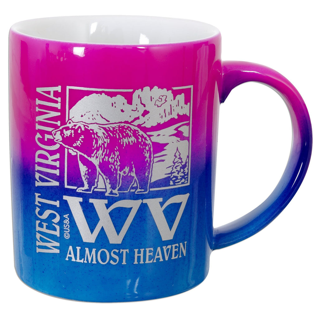 CMWV05 Coffee Mug Rainbow West Virginia WV