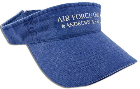 CPAN01 Visor Washed Air Force One Distressed