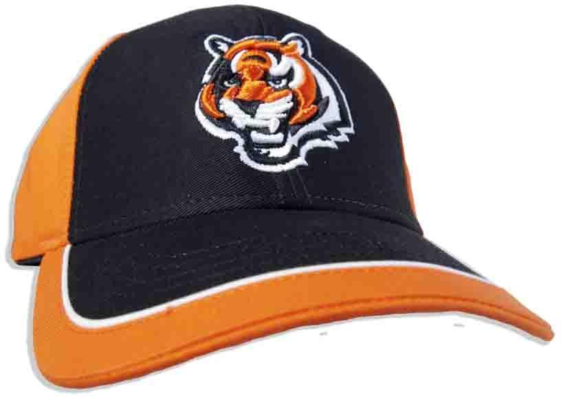 CPCC03 Cap 2-Tone Bengals Logo Brushed Cotton