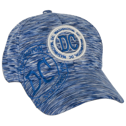 CPDC70-BL Workout Cap - DC Stamp Polyester BLUE D-6