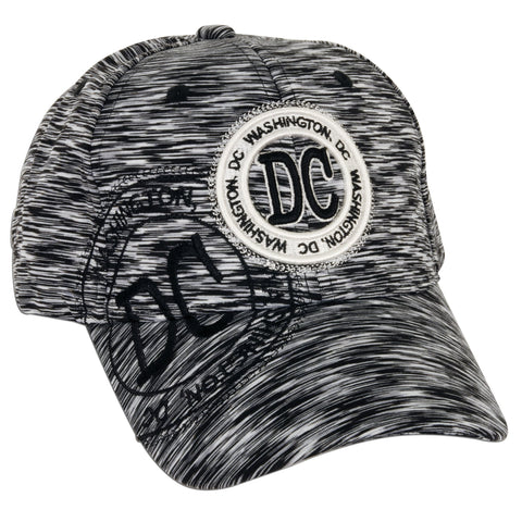 CPDC70-B Workout Cap - DC Stamp Polyester BLACK D-1