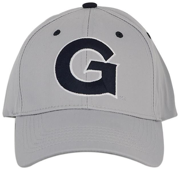 CPGU04 Cap Georgetown University Grey LOGO